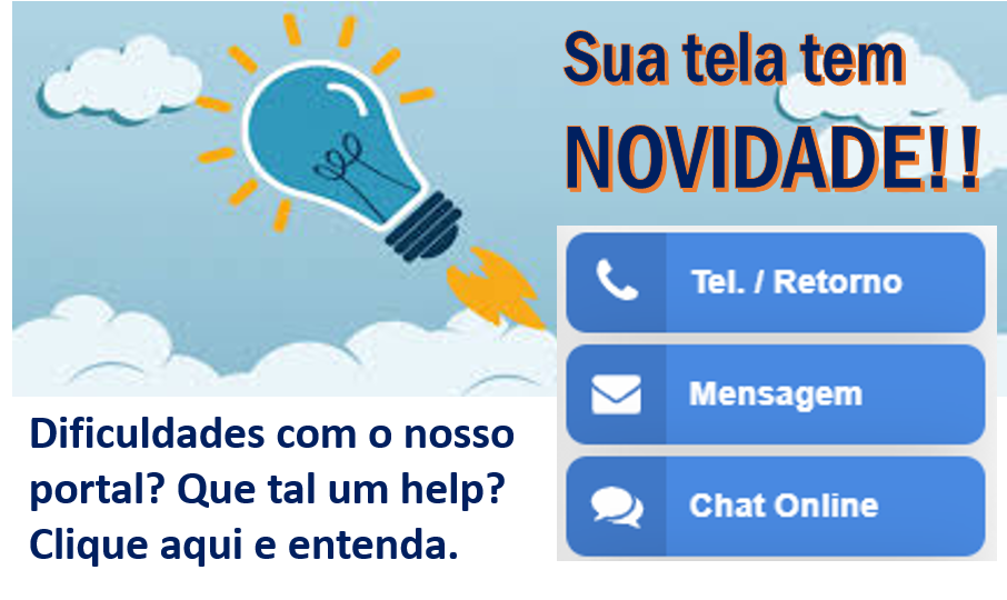 Chat on-line área portal
